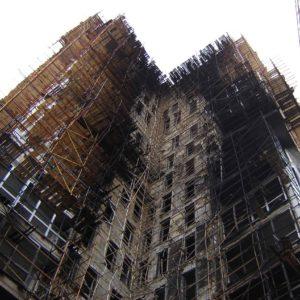 Горючая мембрана для фасадных систем