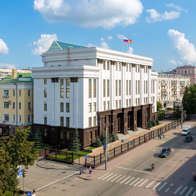 Административное здание Правительства в Челябинске - объект компании