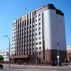 Здание Арбитражного суда - объект компании Парагон в Тюмени