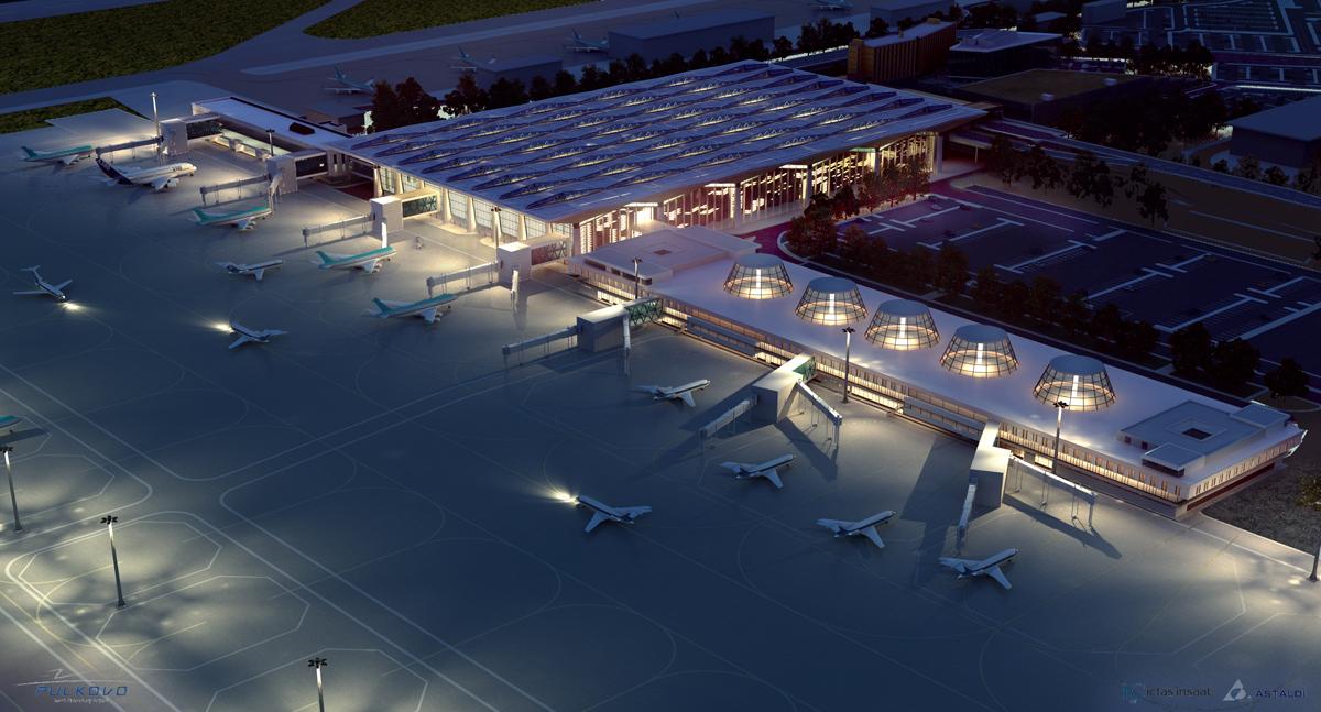 Реализованный объект - аэропорт Пулково