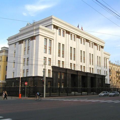 Административное здание Правительства - объект компании Парагон