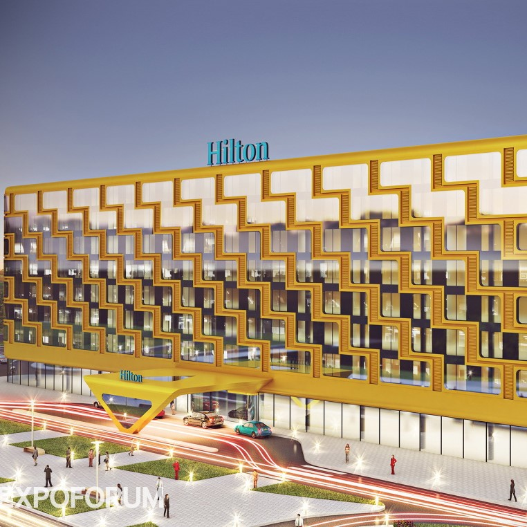 Объект гостиница Hilton в Санкт-Петербурге