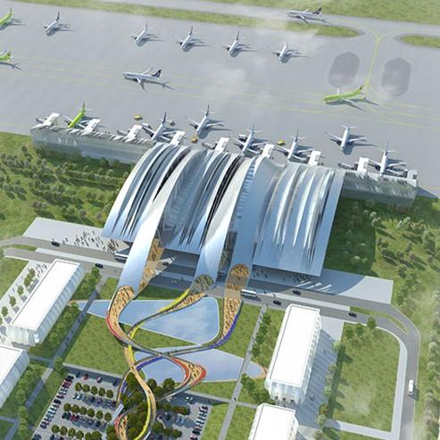 Мембрана TEND для аэропорта Платов